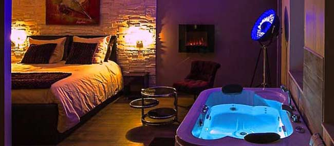 Awesome hotel avec acces spa privatif paris photos for Chambre avec jacuzzi paris